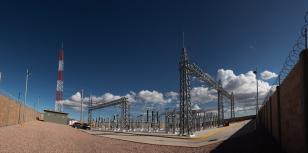 Subestacion Barracuda 115 kV en San Luis Potosi